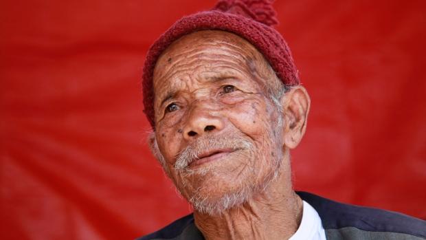 Funchu Tamang, le rescapé de 101 ans