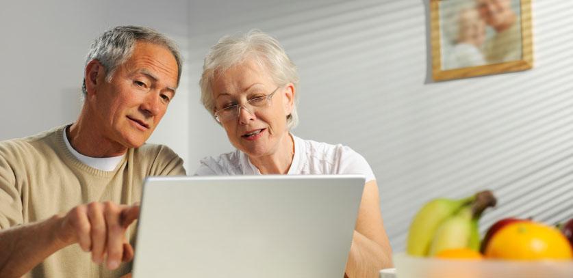 Rencontre en ligne senior