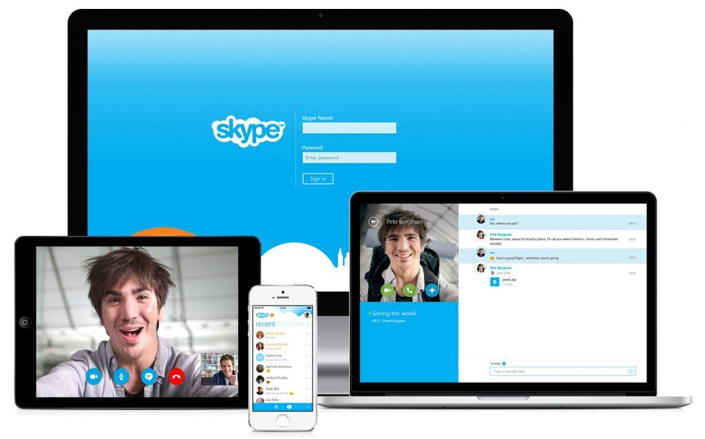 appels vidéo skype