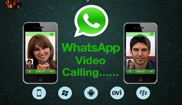 appels vidéo what's app