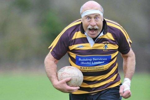 John Goldman - rugbyman à 76 ans !