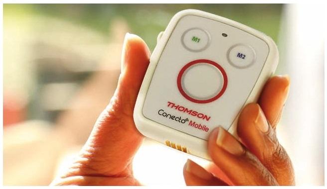 médaillon Thomson Conecto Mobile - medaillon d'urgence pour seniors