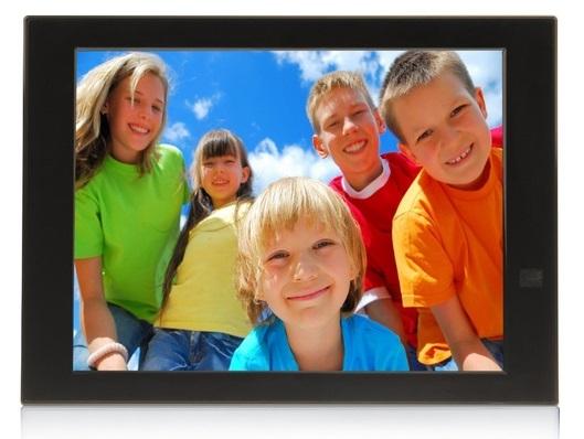 cadre photo connecté - Bazile PhotoConnect - accessoires seniors