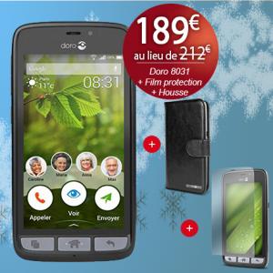 Noël Bazile - Doro 8031 - housse Doro 8031