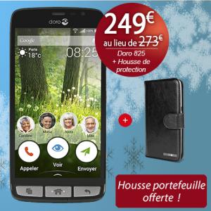 Noël Bazile - Doro 825 - housse Doro 825