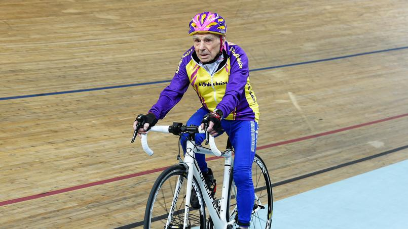 Robert Marchand - seniors sportifs - Bazile Telecom