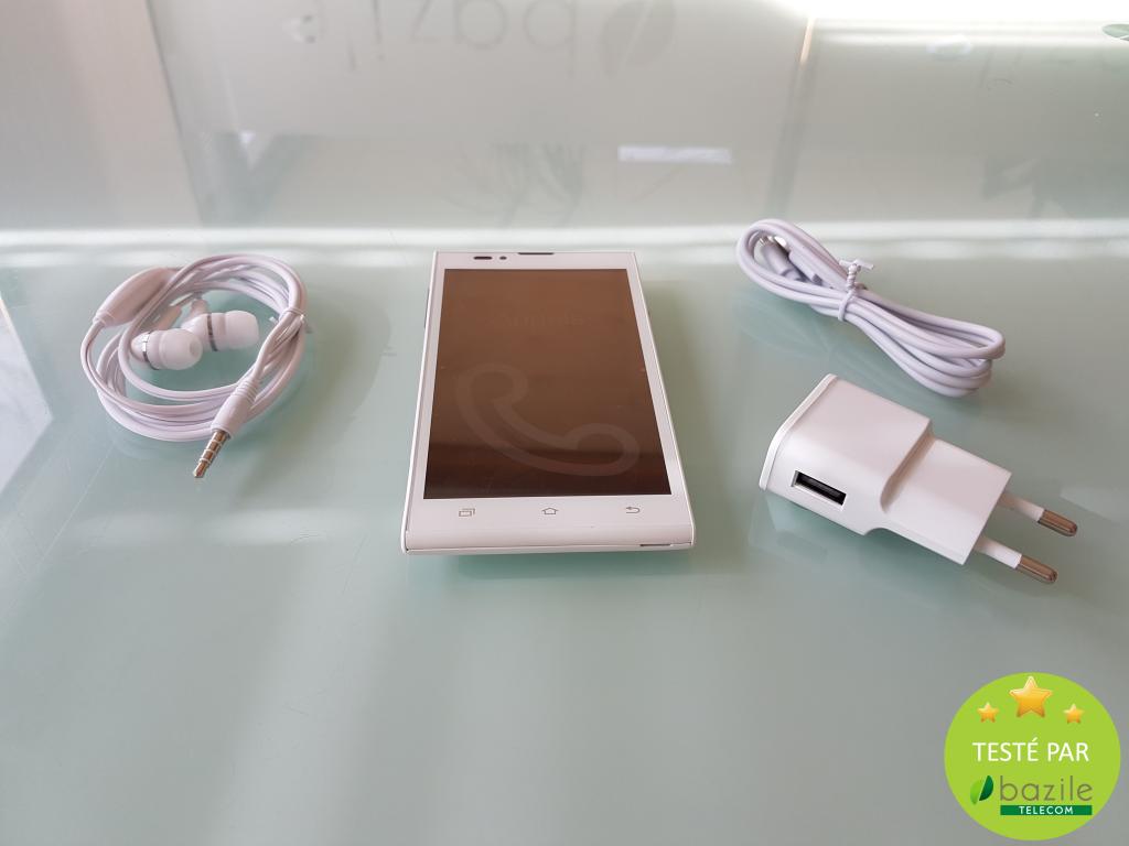 Blindshell - alto 2 - smartphone malvoyants - Bazile