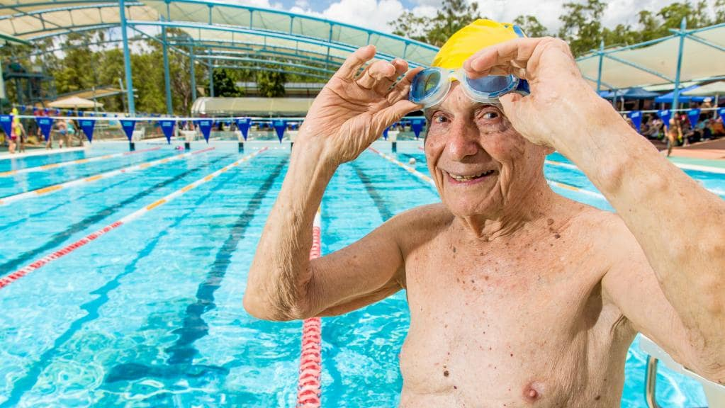 Georges Corones - 99 ans - records seniors - Bazile Telecom