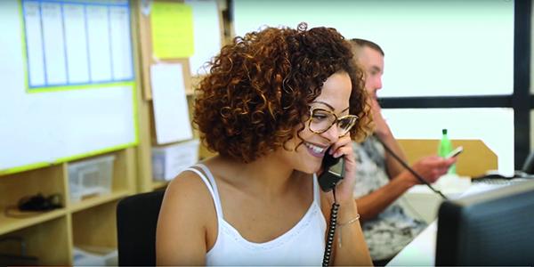 mise en relation Bazile - opératrices - renseignements téléphoniques