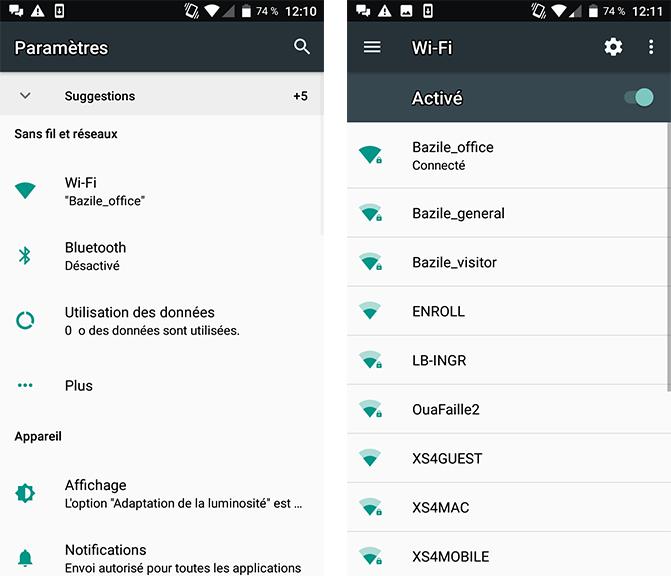 Wi-Fi - Wi-Fi à l'étranger - internet étranger - voyages - Android