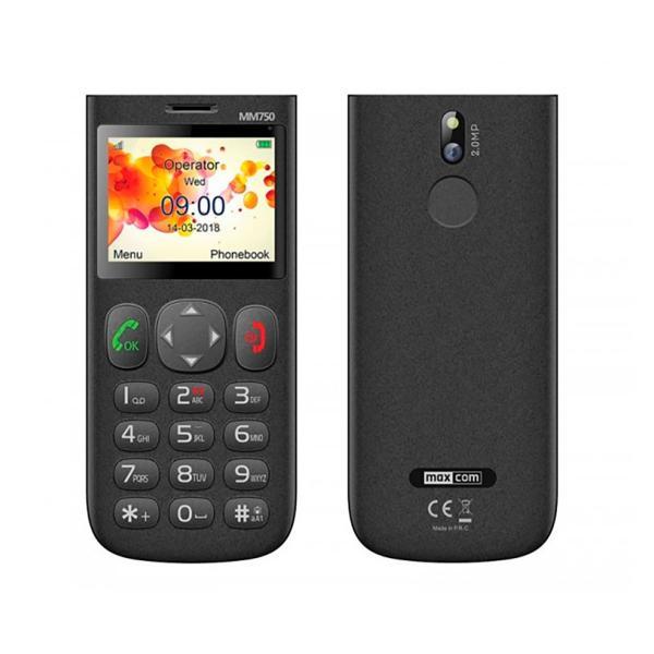 Maxcom MM750 - mobile seniors - Bazile telecom