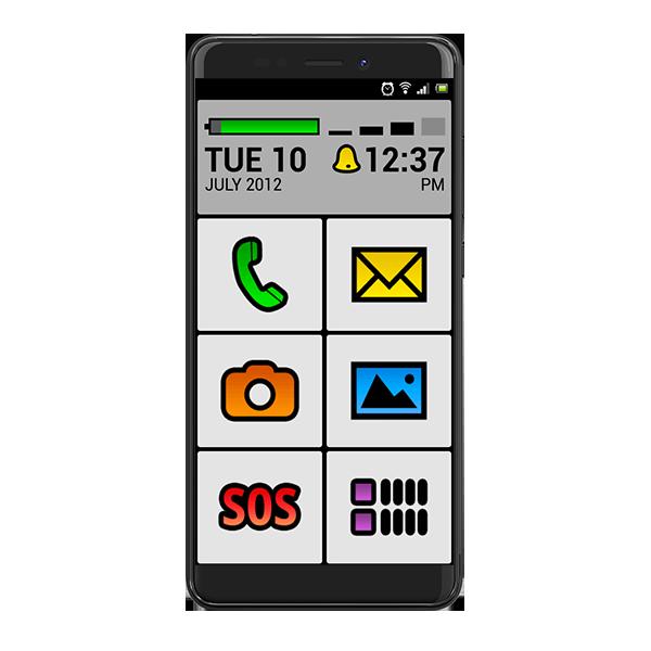 Sélectionner pour prononcer - smartphones Simply - Bazile