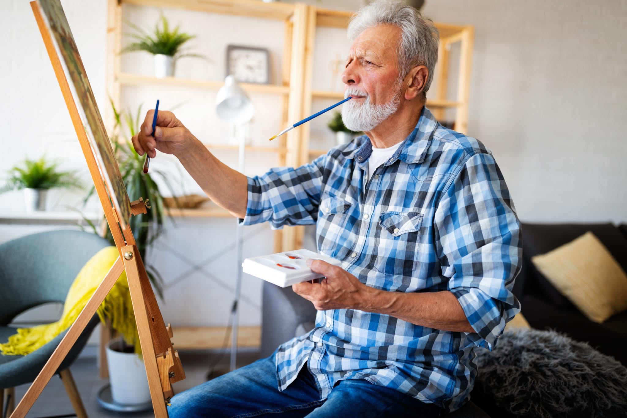 Seniors activités manuelles - retraite - Bazile Telecom