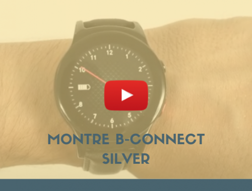 Montre B-Connect Silver - Bazile Telecom