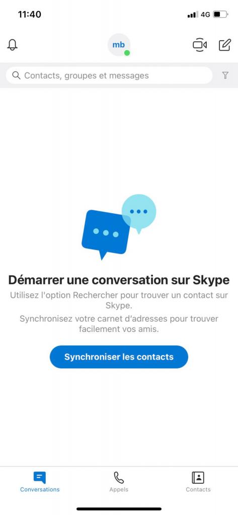 manipulations skype - Bazile Telecom