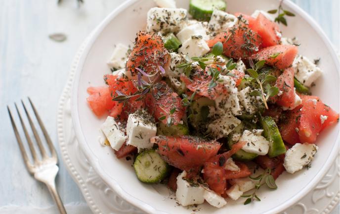 Recette de cuisine salade - Bazile