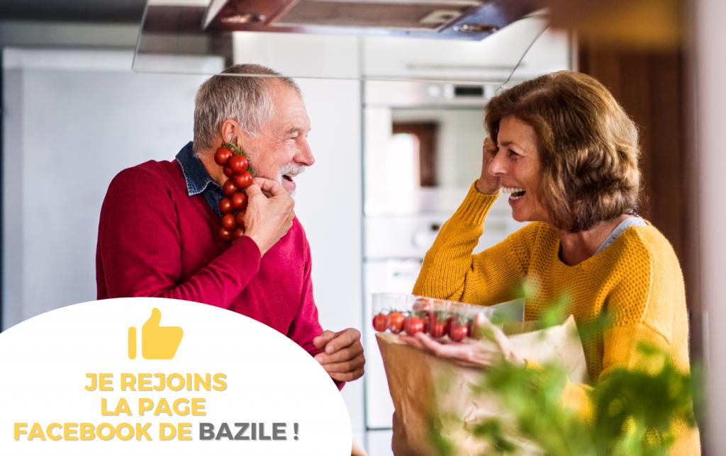 Page Facebook Bazile - Bazile