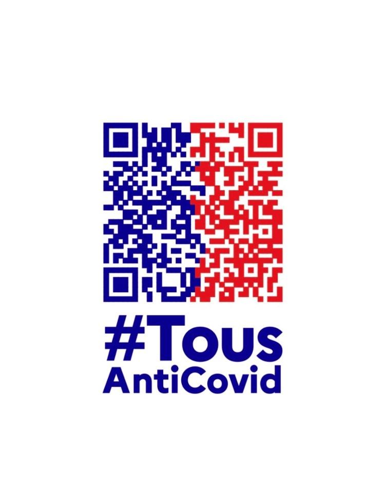 Logo TousAntiCovid - Bazile
